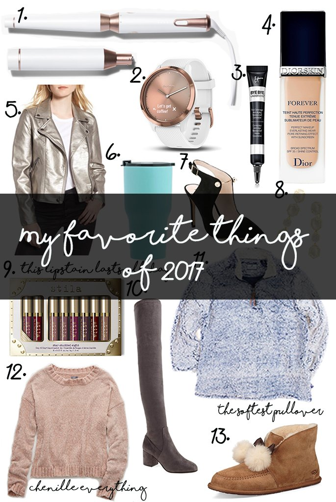 My Favorite Things of 2017