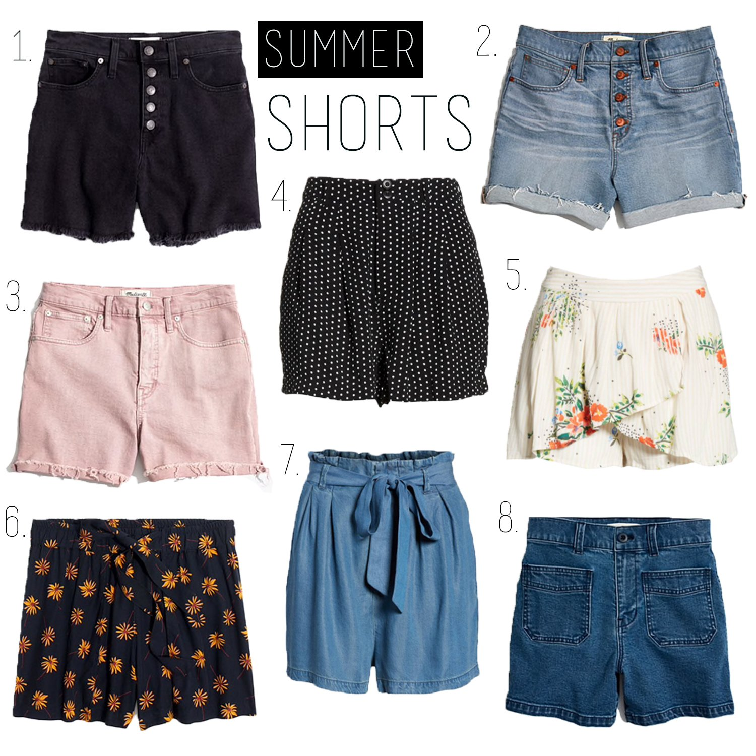 Summer shorts guide