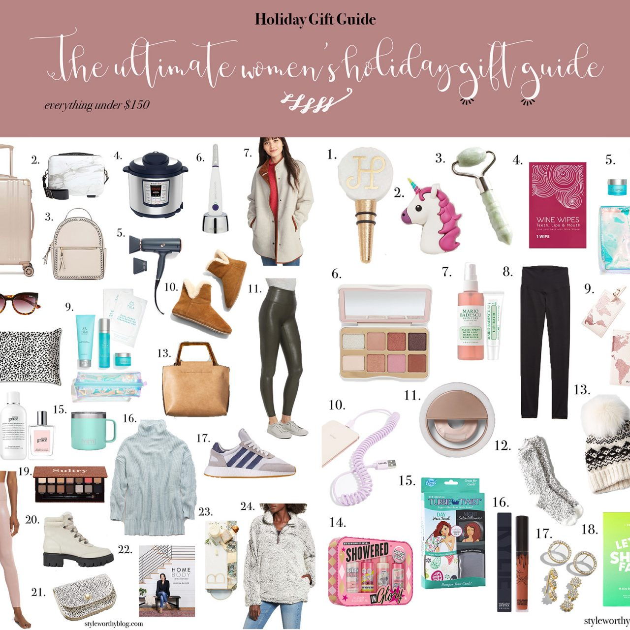 The Ultimate Women's Holiday Gift Guide + Stocking Stuffers for Her