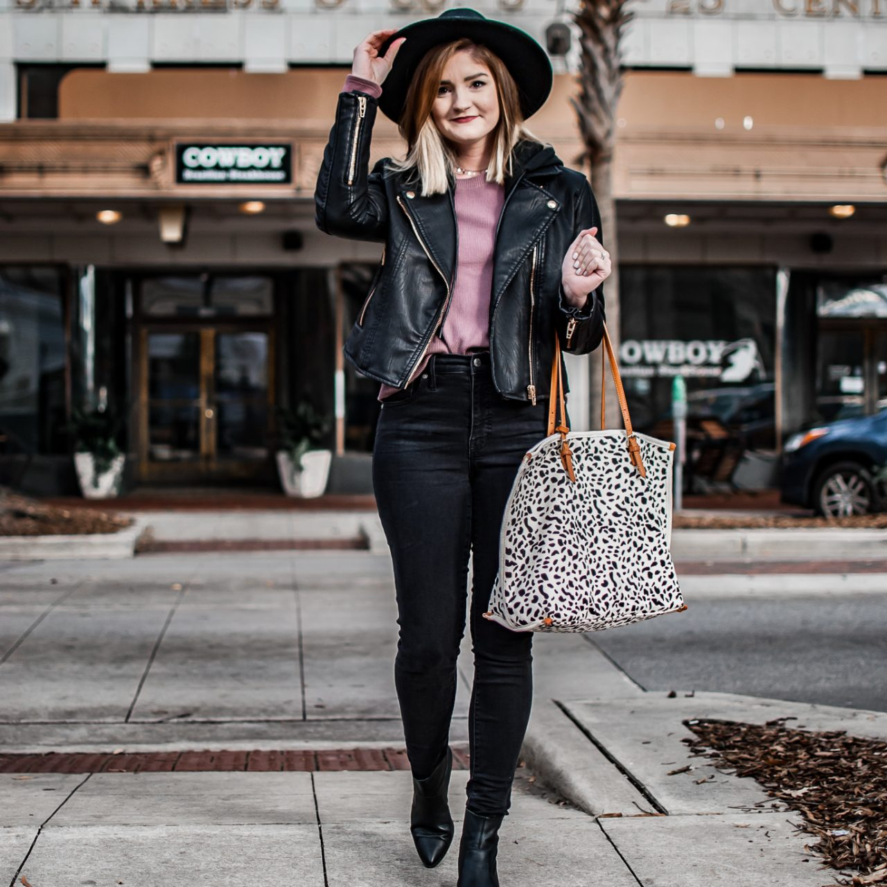 My Top 3 Closet Staples + How to Style an All Black Outfit