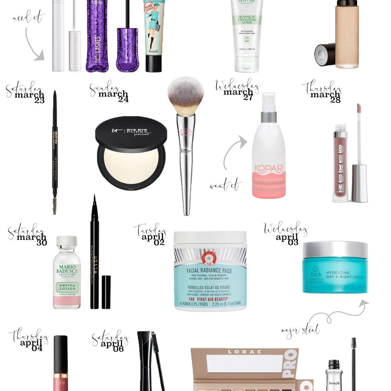 Ulta's 21 Days of Beauty Shopping Guide