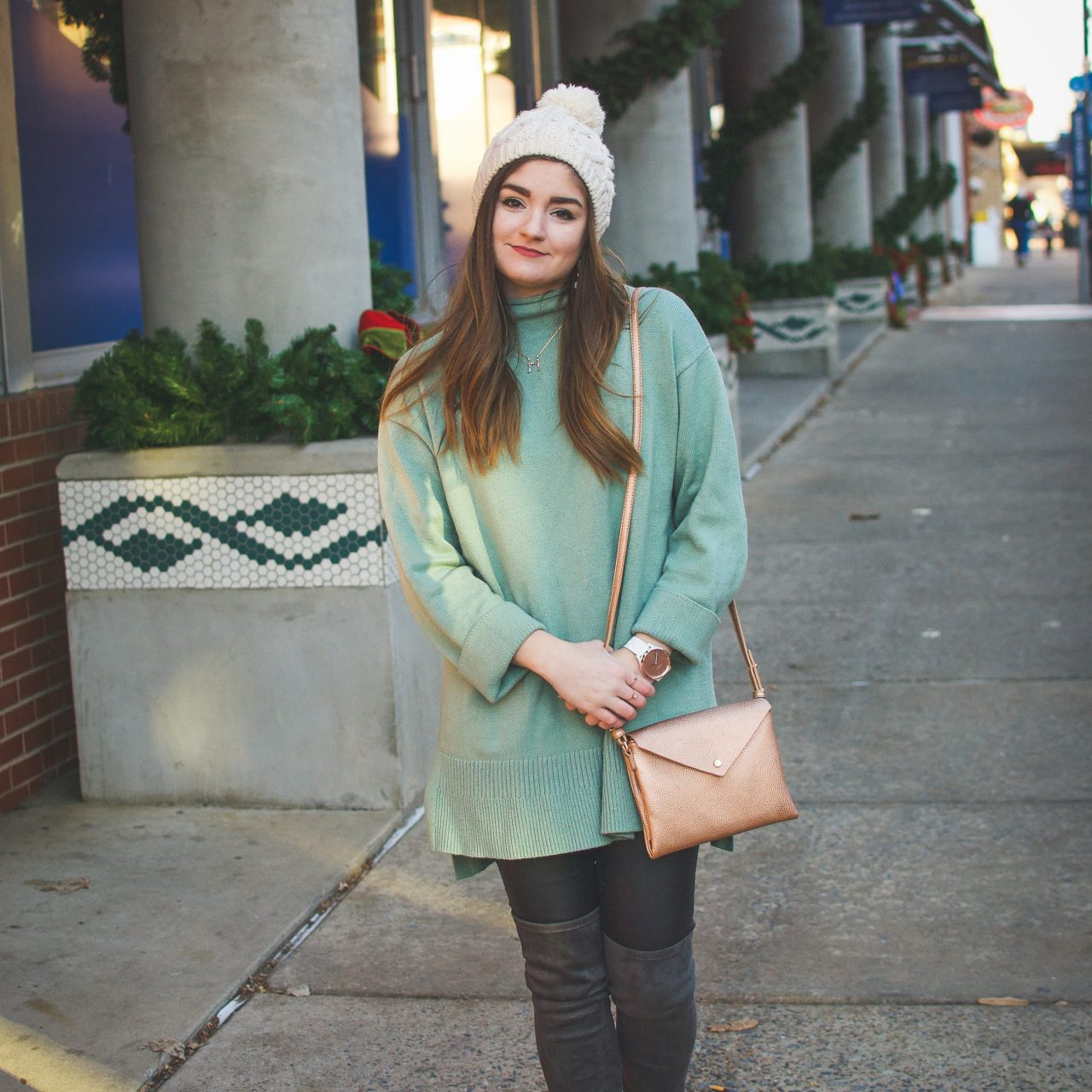 Anthropologie Sweater and Crossbody