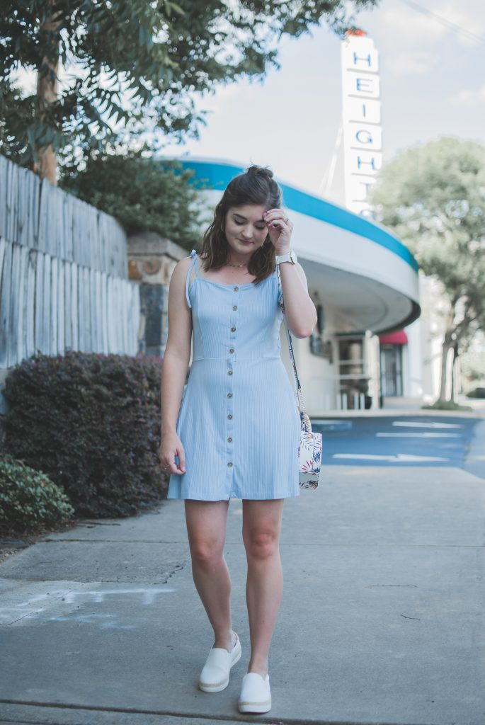 Nordstrom Anniversary Sale - ribbed button front dress