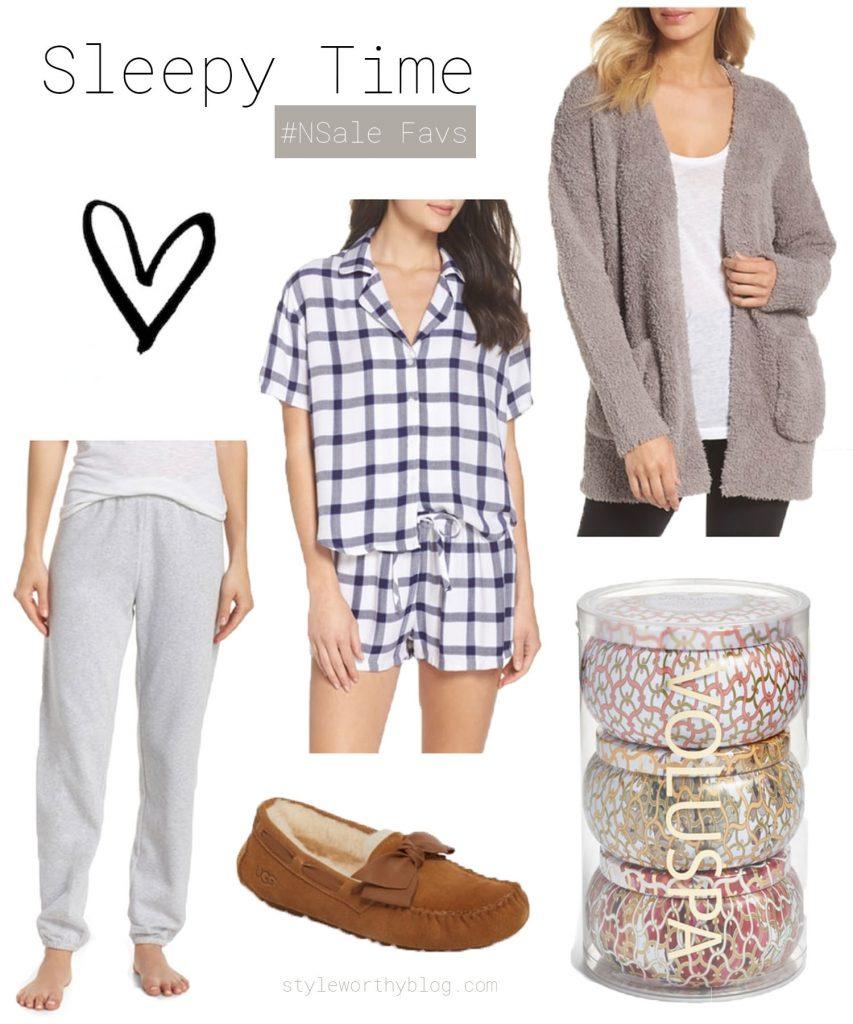 Nordstrom Sale favorites - loungewear and pajamas