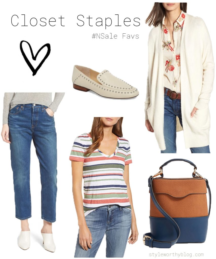 Nordstrom Sale favorites - closet staples