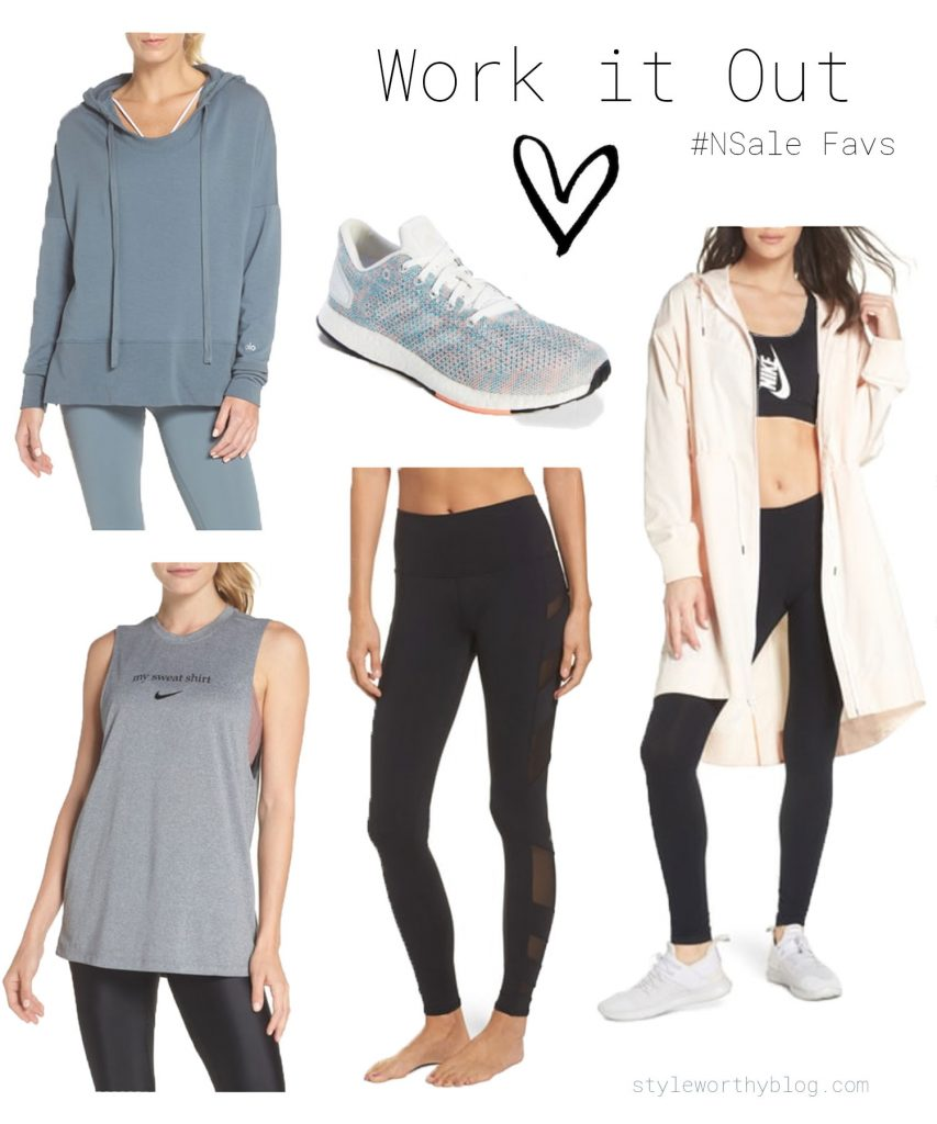 Nordstrom Sale favorites - workout and athleisure