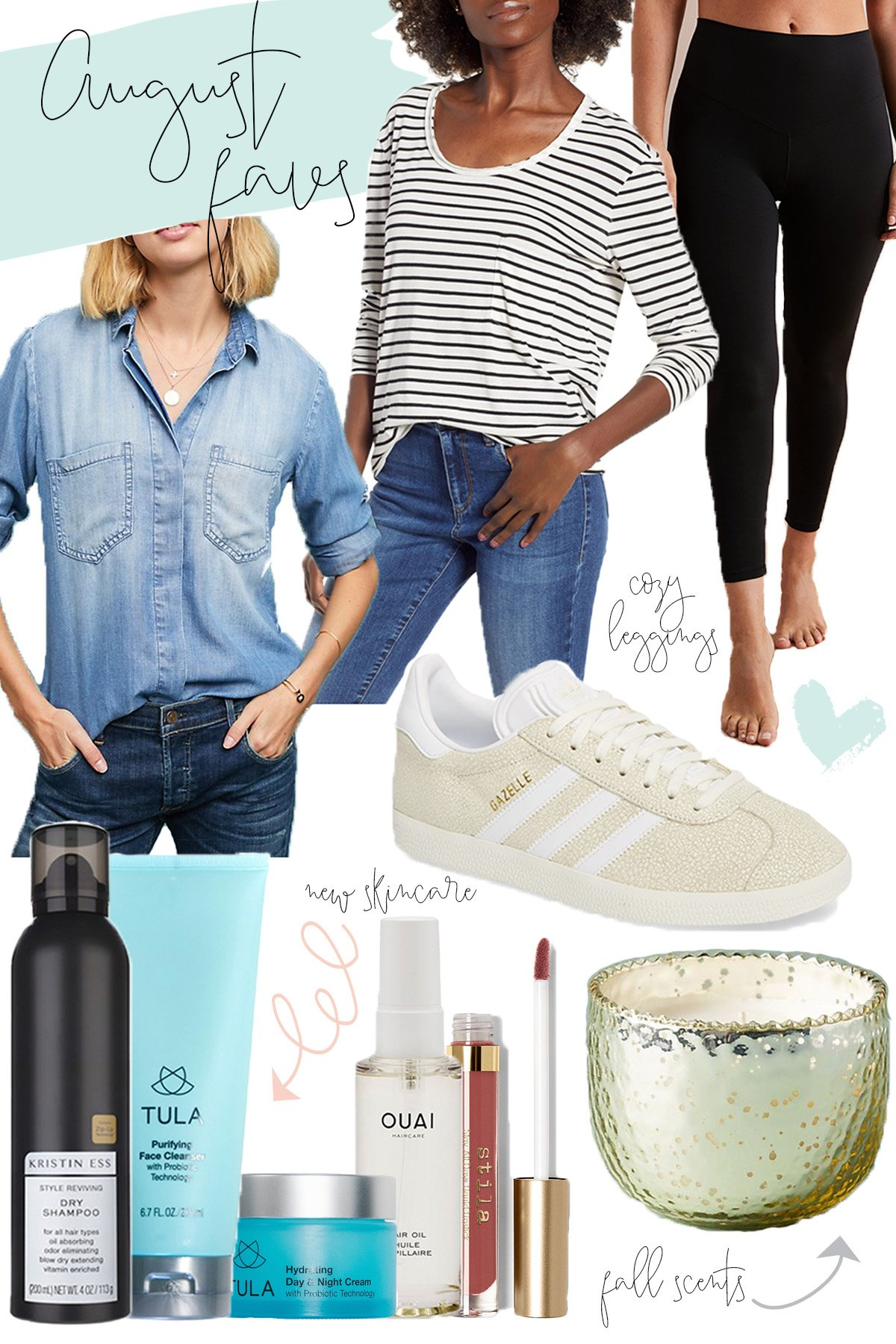 A roundup of my August favorites