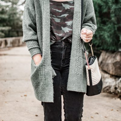 How To Shop For Trendy Pieces + The Camo Trend