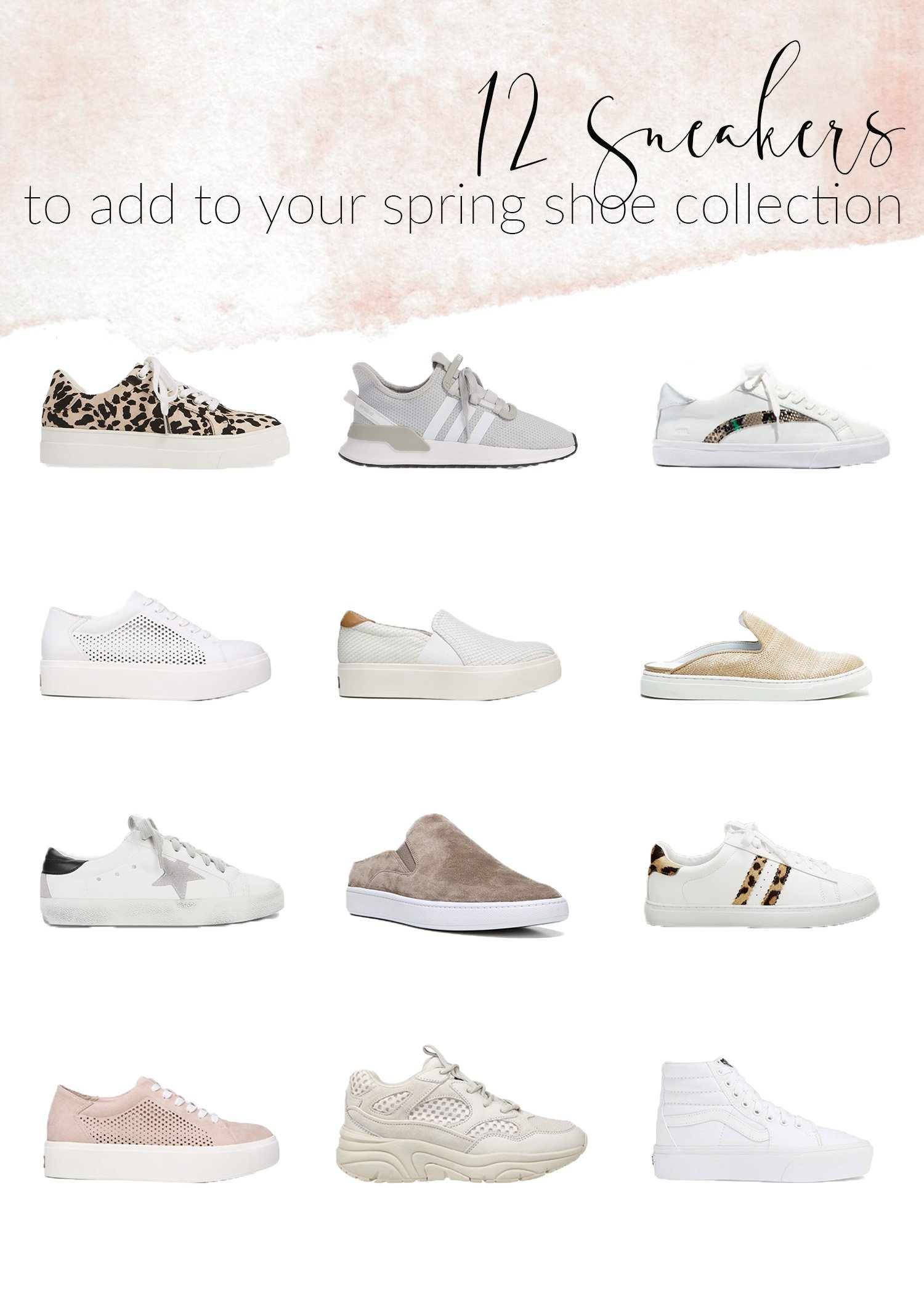 Sneakers to add to your spring shoe collection