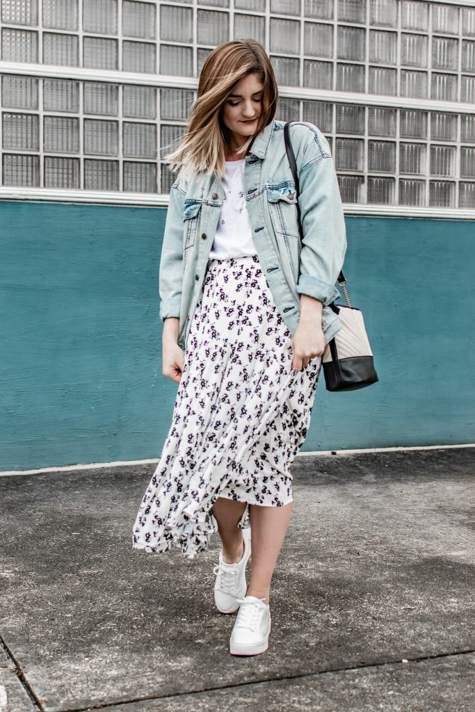 2 Ways to Style a Midi Skirt for Spring
