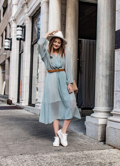 How to Turn Your Easter Dress into a Casual Spring Outfit