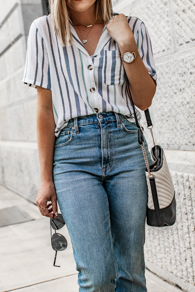 3 Ways to Style a Button Down