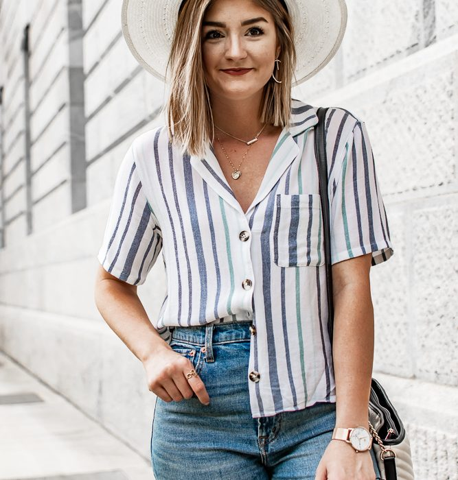 3 Ways to Style A Short Sleeve Button Down