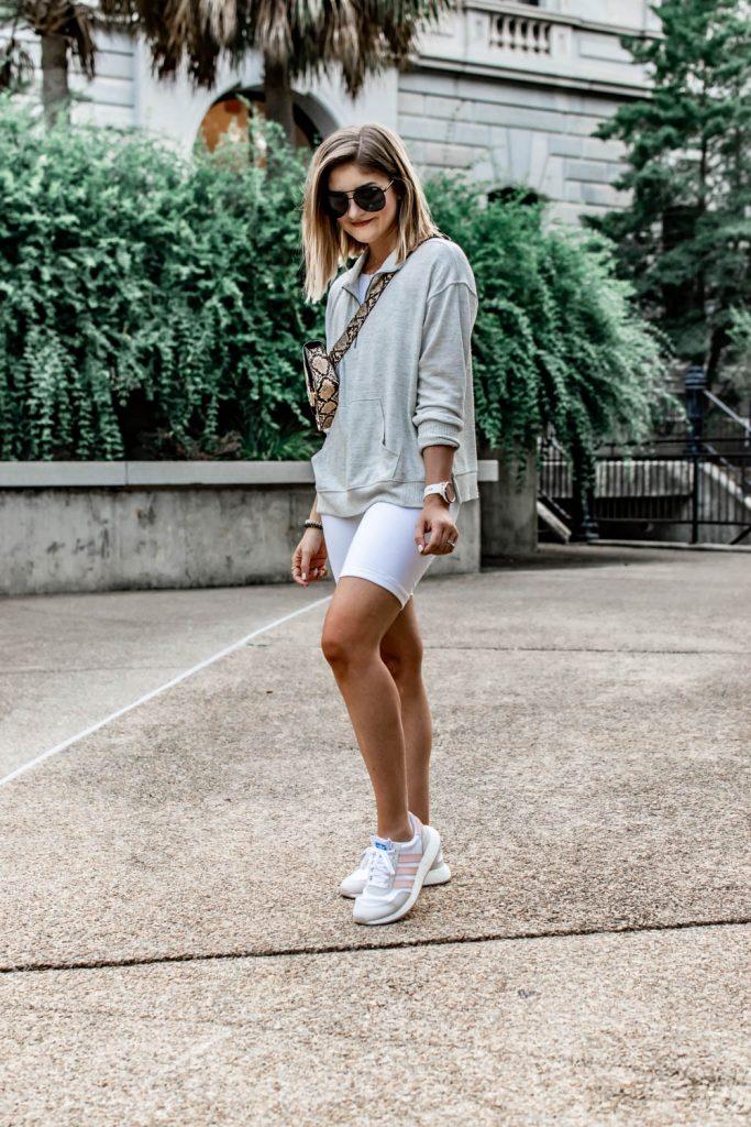 3 Ways to Wear the Biker Short Trend