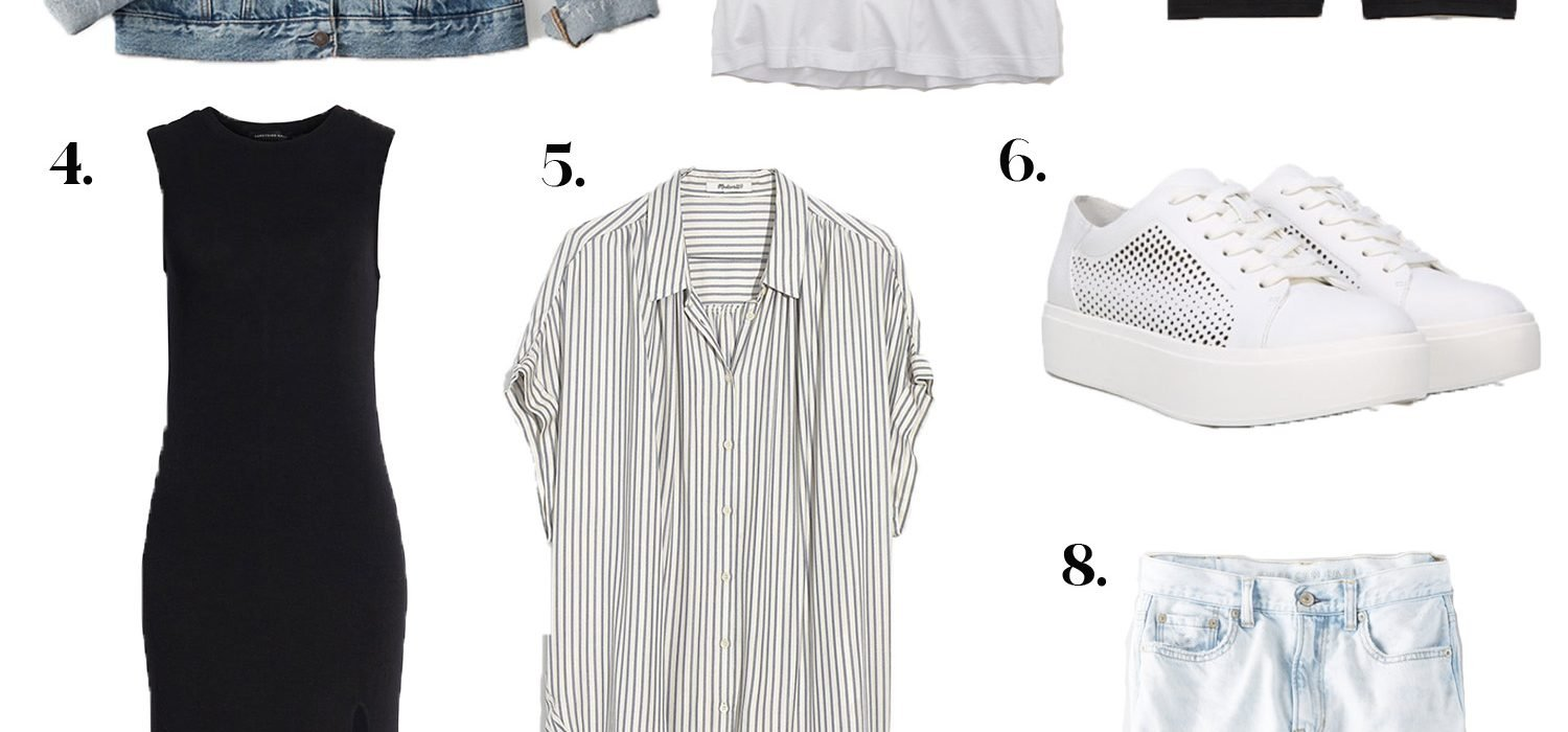 10 Casual Summer Staples I Keep Reaching For