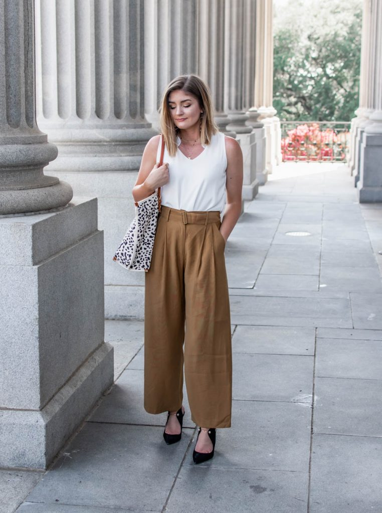 workwear and office style