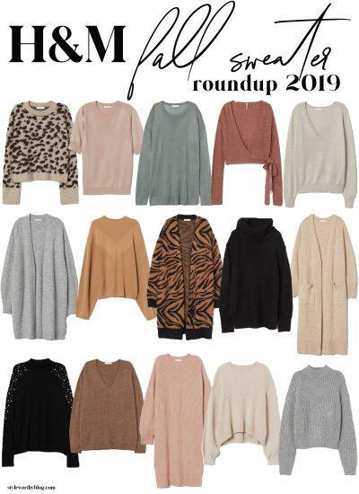 H&M Fall Sweater Roundup 2019