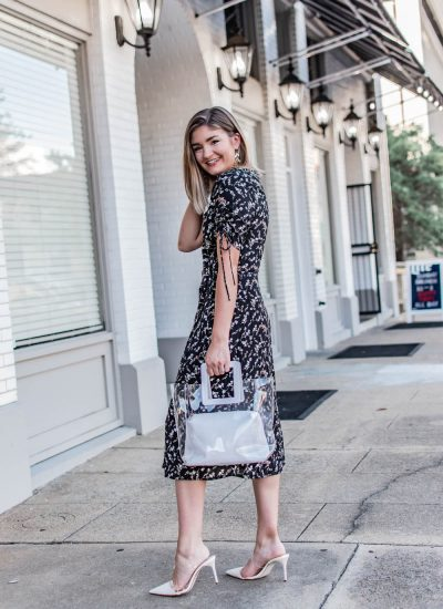 Two Ways to Wear a Wrap Dress This Fall