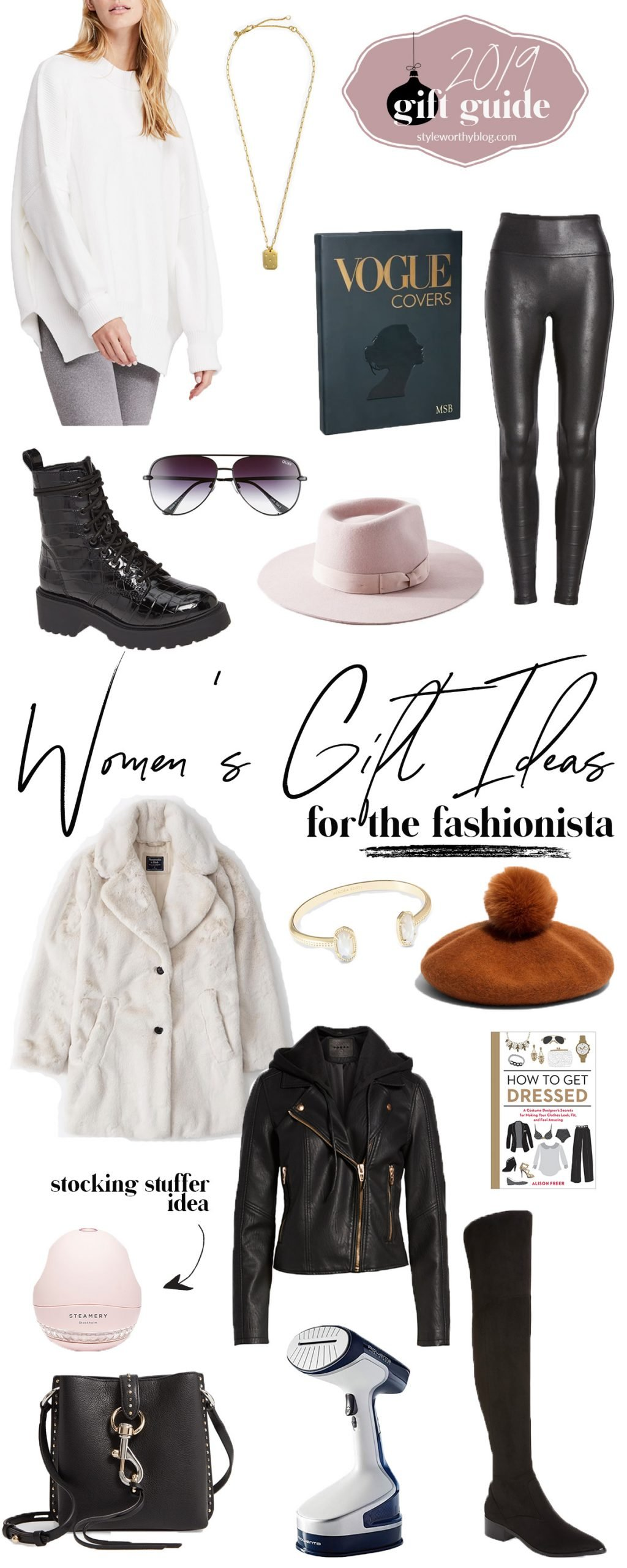 Women's gift guide. Gift ideas for the fashionista