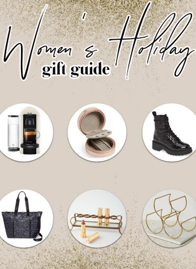 The Ultimate Women's Holiday Gift Guide 2019